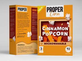 Propercorn Microwave Cinnamon Popcorn