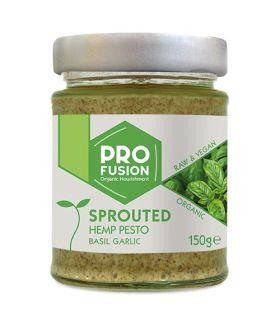 Profusion Organic Sprouted Hemp Pesto Tomato Chilli 150g x6
