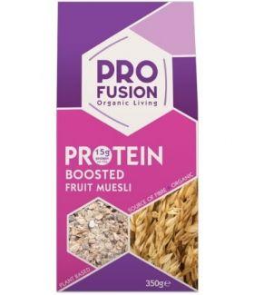 Profusion Organic Protein Boosted Muesli 350gx6