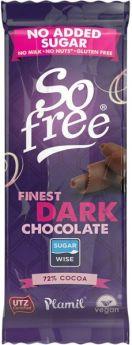 So free NAS Finest Dark 72% Cocoa UTZ 28x35g