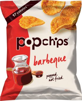 Popchips Barbeque 23g x24