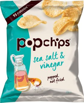 Popchips Sea Salt & Vinegar 23g x24