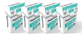 Peppersmith Mighty Box Peppermint Gum 50g 18