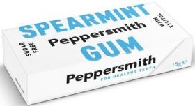 Peppersmith Xylitol English Peppermint (Sugar Free) Mints 15g x12