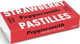 Peppersmith Xylitol Sicilian Lemon and English Peppermint (Sugar Free) Mints 15g x12