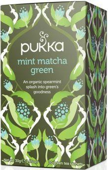Pukka Tea Organic & Fair Trade Clean Green 1.5g - 20's x4