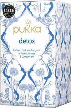 Pukka Organic Detox Teabags 40g (20's) x4