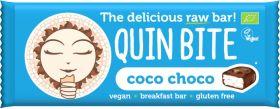 Quin Bite Organic Coconut Raw Breakfast Bar 30g x12