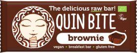 Quin Bite Organic Chocolate Mint Raw Breakfast Bar 30g x12