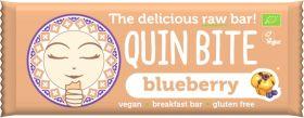 Quin Bite Organic Brownie Raw Breakfast Bar 30g x12