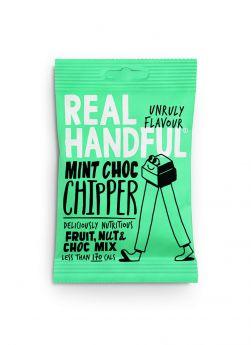 Real Handful Mint Choc Chipper Trail Mix 12x35g