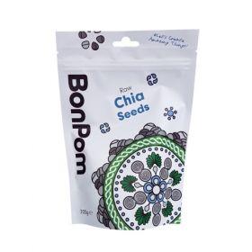 BonPom Raw Chia Seeds 200g x1