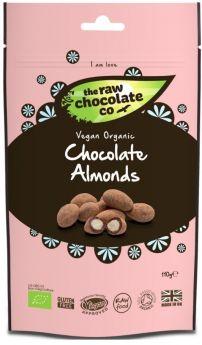 Raw Chocolate Almonds 6x110g Pouches