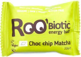 Roo'Biotic Organic Coconut and Guarana Raw Energy Ball 22g x20
