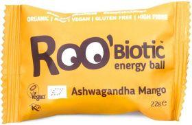 Roo'Biotic Organic Chocolate Chip Matcha Raw Energy Ball 22g x20