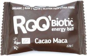 Roo'Biotic Organic Ashwagandha Mango Raw Energy Ball 22g x20