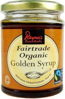 Rayners Fairtrade Organic Golden Syrup 340g x6