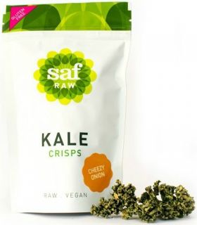 Saf Life Smoked Paprika Kale Crisps 40g x12