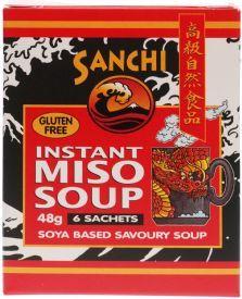 Sanchi Miso Soup 8g 6x6