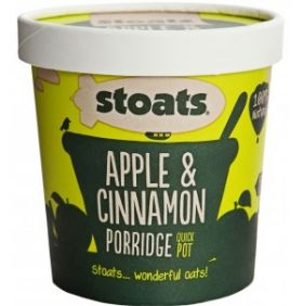Stoats Porridge Quick Pot 60g x16