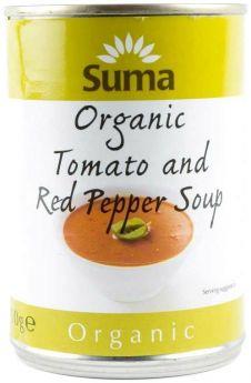 Suma Organic Tomato & Red Pepper (12x400g)