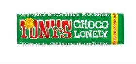 Tony's Chocolonely Fairtrade Almond and Sea Salt 51% Pure Dark Chocolate 47g x35
