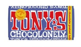 Tony's Chocolonely Fairtrade Milk chocolate 180g x15
