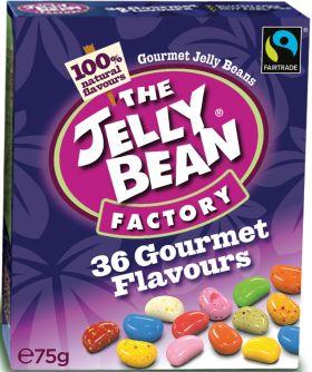 Jelly Bean Fair Trade Gourmet Mix (16x75g)