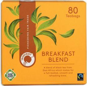 Traidcraft Everyday Green Fair Trade Teabags (6x80 bags)