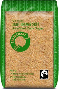Traidcraft Fairtrade Golden Caster Sugar 500g x6