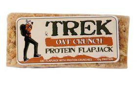 Trek Crunchy Oat Flapjack (12x56g)