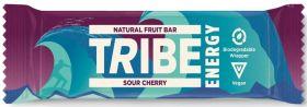 TRIBE Energy Sour Cherry Vegan Energy Bar (42gx16)