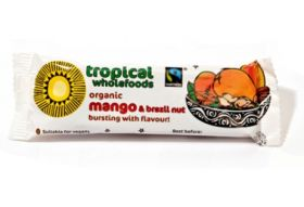 Tropical wholefoods Fair trade & Organic Mango & Brazil Nut 40g x24