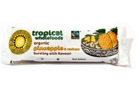 Tropical wholefoods Fair trade & Organic Pineapple & Cashew Nut 40g x24