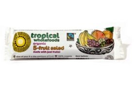 Tropical wholefoods Fairtrade & Organic 5 Fruit Salad 40g x24