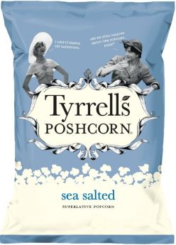 Tyrrells Sea Salted Superlative Poshcorn 75g x12
