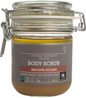Urtekram Fair Trade & Organic Brown Sugar Body Scrub 380g x4