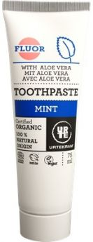 Urtekram Organic Mint and Green Tea Toothpaste 75ml x6