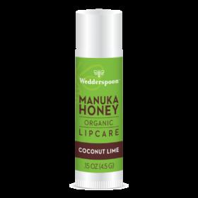 Wedderspoon Manuka Lip Balm - Coconut & Lime (20 display box) 4.5g x20