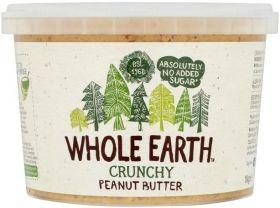 Whole Earth Original Crunchy Peanut Butter 340g x6