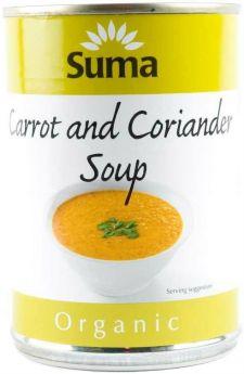Suma Organic Carrot & Coriander Soup (12x400g)
