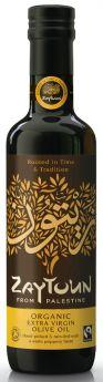 Zaytoun Fair Trade Palestinian Organic Extra Virgin Olive Oil (1x250ml)